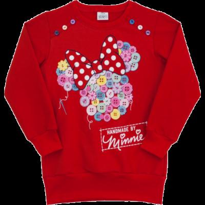 Minnie piros pulóver (128-146)