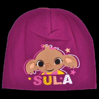 Sula elefánt mintás pamut átmeneti kislány sapka.