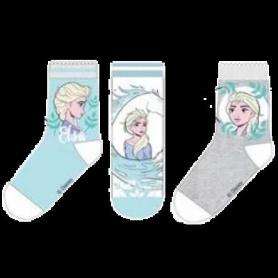 Elza-Jégvarázs pamut gyerek zokni szett.