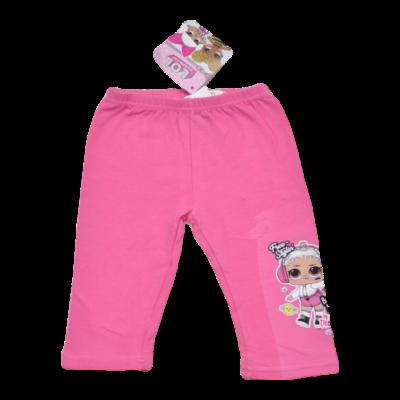 Rózsaszín L.O.L. 3/4-es leggings (104-122)