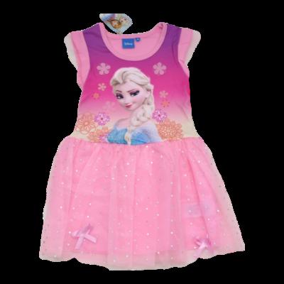 Rózsaszín Elzás ruha (104-128)