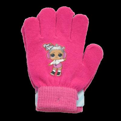 LOL Surprise pink-rózsaszín kesztyű (5-11 év)