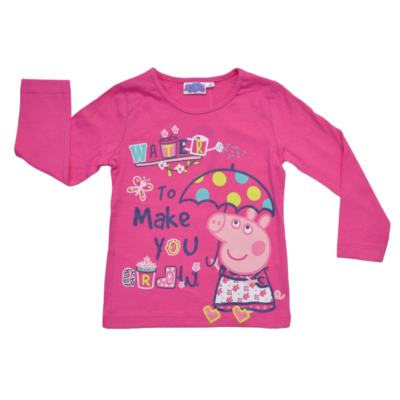 Peppa Pig rózsaszín felső (98-128)