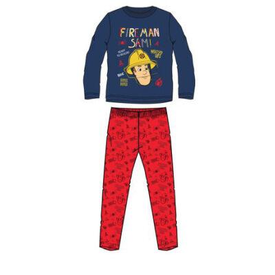 Sam a tűzoltó sötétkék pizsama (98-116)