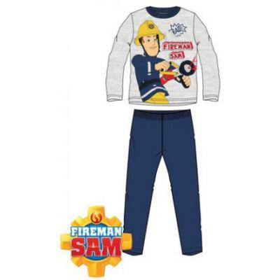 Sam a tűzoltó szürke pizsama (98-116)