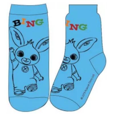Bing kék zokni