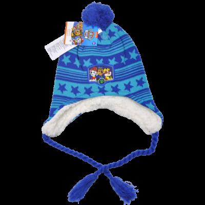 Mancs őrjárat téli gyerek sapka királykék (52-54)