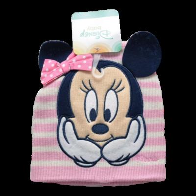 Rózsaszín Minnie Baby sapka (48-50)